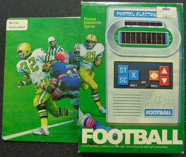Mattel Football: 1979's King of Timewasters