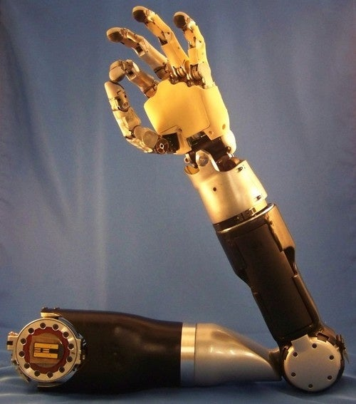 Human Trials Next for Darpa's Mind-Controlled Artificial Arm