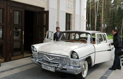 Governor Schwarzenegger And Russian President Dmitry Medvedev's First Date