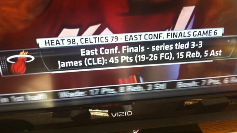 LeBron James Had A Big Game Last Night For Cleveland, According To ESPN