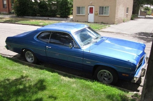 1975 Plymouth Duster Down On The Denver Street