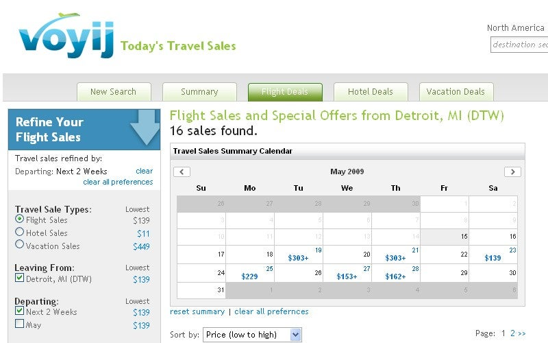 Voyij Finds Best Deals for Travelers with an Open Calendar