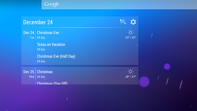 Event Flow Calendar Widget Brings Events and Weather Together