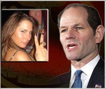 Eliot Spitzer Wanders Into Media Party, Thinking It Was Something Else