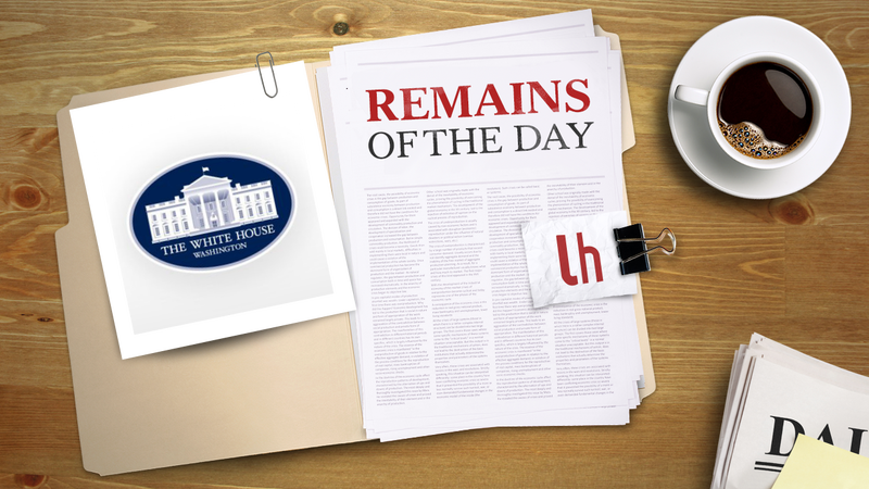 Remains of the Day: White House Petition to Stop CISPA Reaches 100,000 Signatures