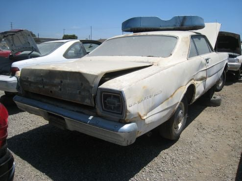 Hardtop Or No, This Galaxie Is Crusher Bound