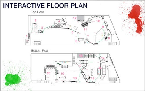 OK Go's Insane Rube Goldberg Machine Gets a Wicked Interactive Floor Plan