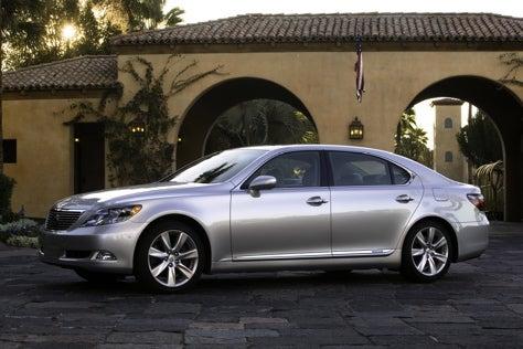 Six-Figure Hybrid: Lexus Prices LS600h L Flagship