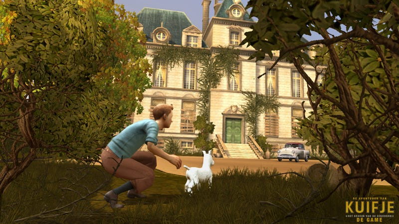 The Adventures of Tintin Game Looks Pretty