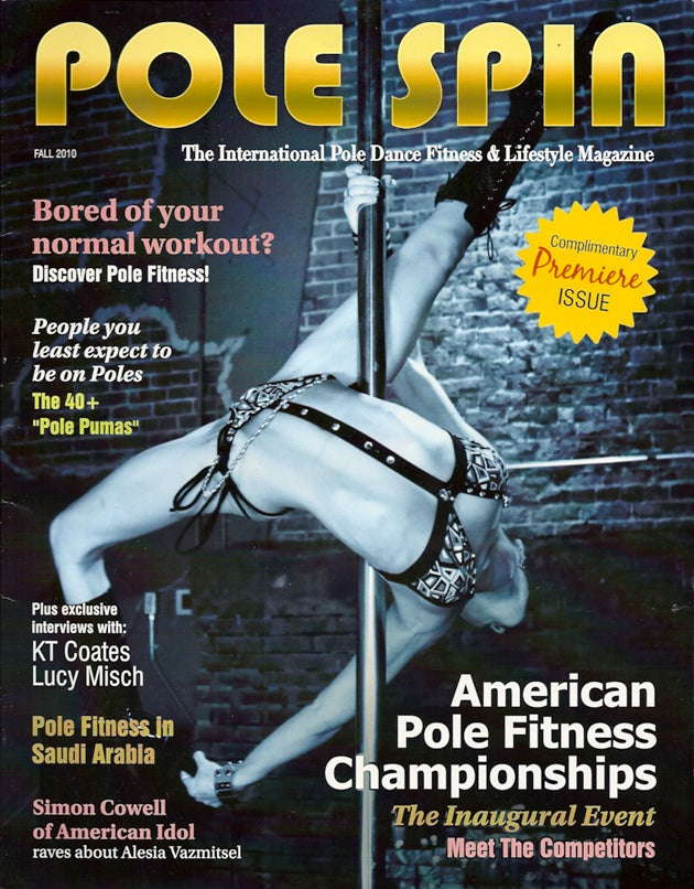 The New Magazine That's Just For Pole Dancers