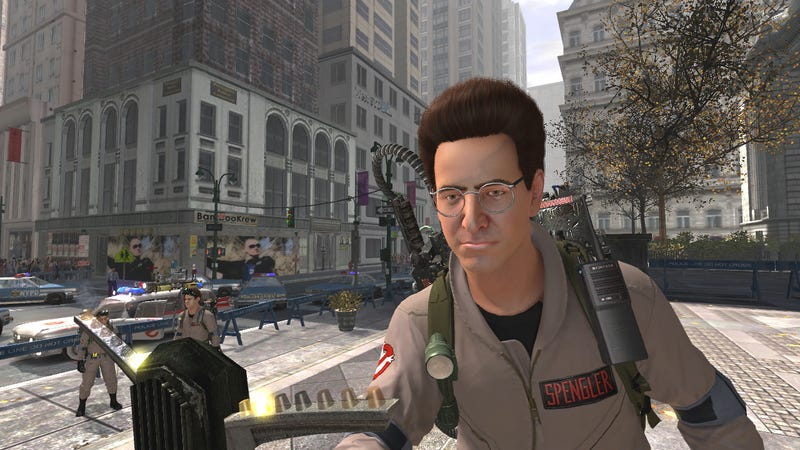 Spengler's Hair Is Fabulous In New Ghostbusters Screens