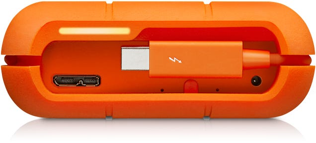 LaCie's Rugged RAID Offers Extra Data Protection With Two Drives Inside