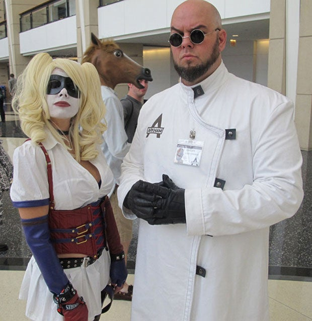 Hugo Strange, Your Cosplay Experiments Sicken Me