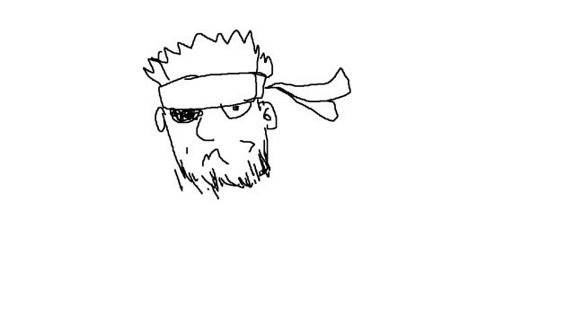 Anyone Can Draw Snake from Metal Gear. Um, Maybe Not.