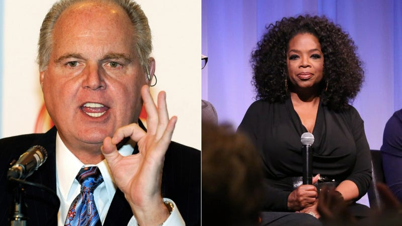 Rush Limbaugh: 'The Oprah' Was Snubbed Cuz She's Too Fat To Look Rich