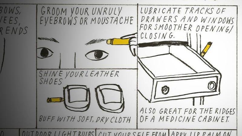 Fix a Stuck Drawer with Lip Balm