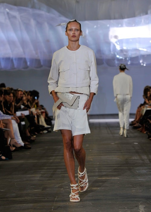 Alexander Wang Leans Toward The Light