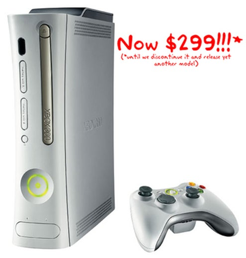 New Xbox 360 60GB Model, 20 Gig Going For $299