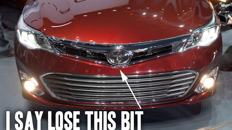 2013 Toyota Avalon: Is That A Harelip?