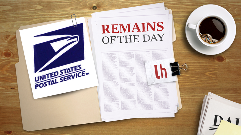 Remains of the Day: The US Postal Service Will No Longer Cancel Saturday Deliveries
