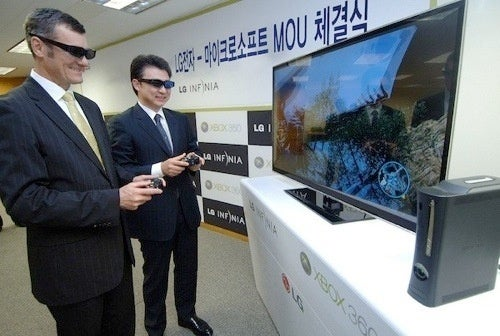 LG 3DTVs and Xbox 360s Sold Together In South Korea For 3D Gaming
