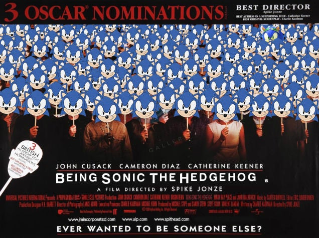 Kotaku 'Shop Contest: Live-Action Sonic The Hedgehog Movie: Winners!