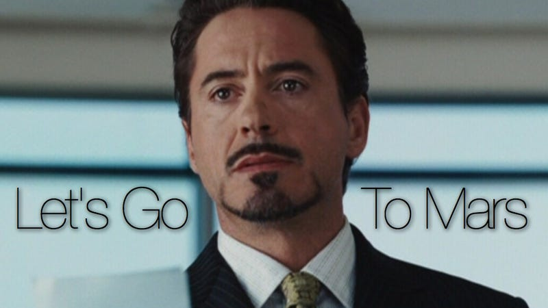 The billionaire genius who Tony Stark is based on wants humans on Mars within 15 years