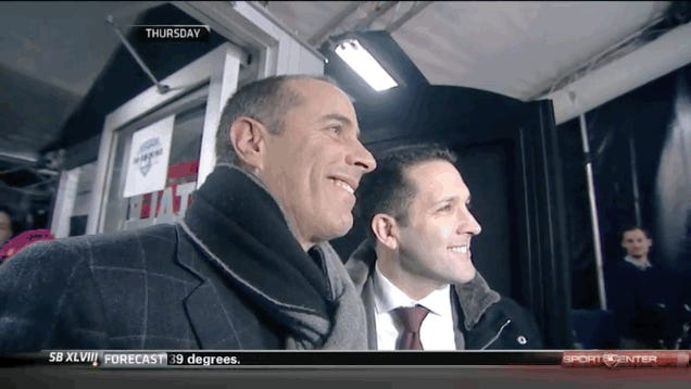 Jerry Seinfeld Leaves Adam Schefter Hanging