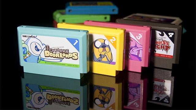 Adventure Time? 1980s Video Game Cartridges? What is This Madness?