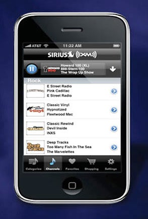 Sirius XM iPhone App Available Tomorrow