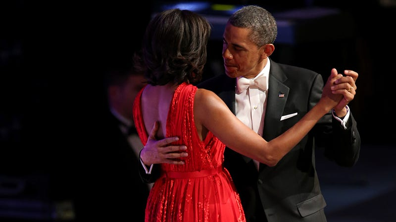 POTUS and His 'Better Half,' Michelle Obama, Dance Cheek to Cheek
