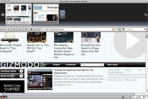 Opera 10 Beta Adds Visual Tabs, Server-Side Compression