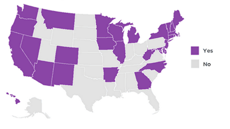 Depressing Map Shows Which States Will Require Insurance to Cover Birth Control if Obamacare is Overturned