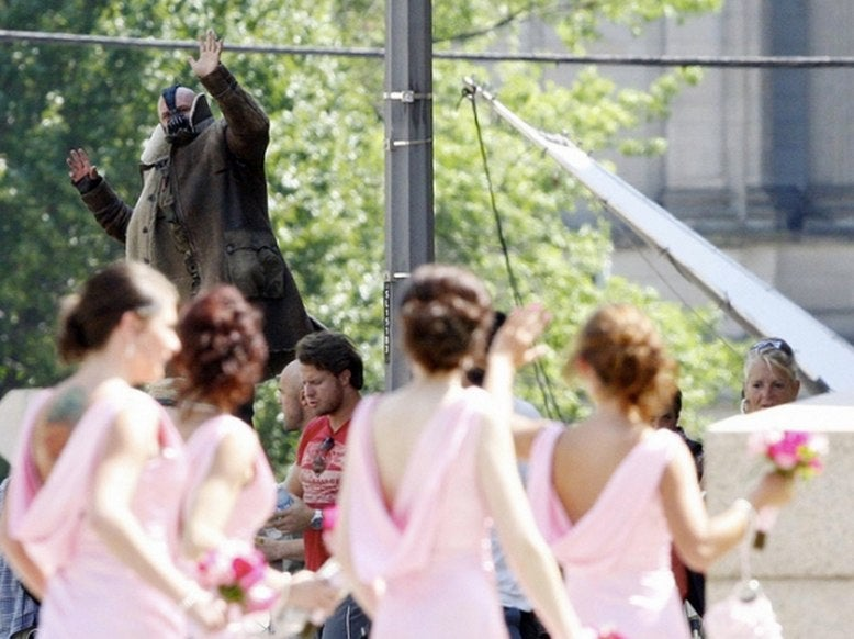 Bane Crashed a Wedding During Dark Knight Rises Filming