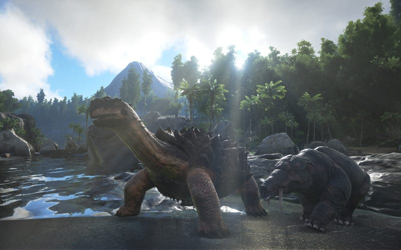 Game Studios Enter Legal Battle Over The Making Of Ark: Survival Evolved