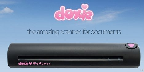 Doxie Scanner Uploads Straight to the Cloud