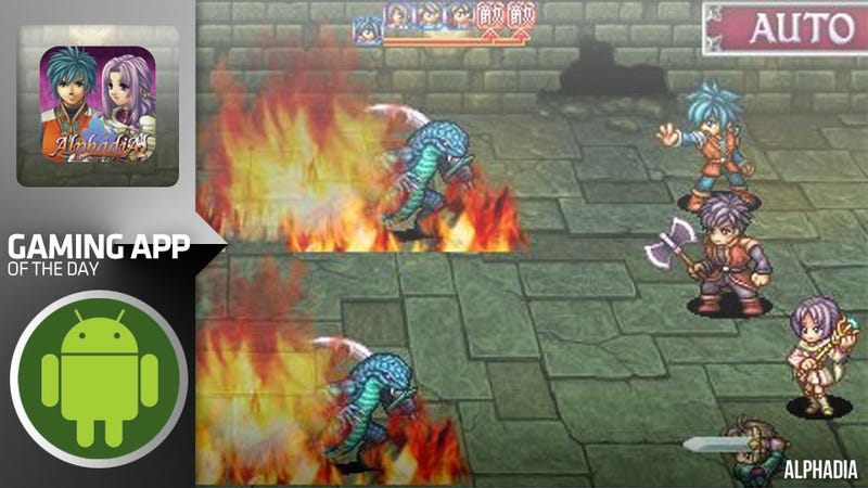 Turn-Based RPG Alphadia is So Old School They Tore the School Down