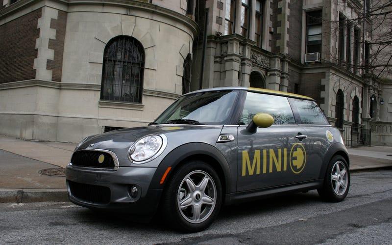 MINI E: First Drive