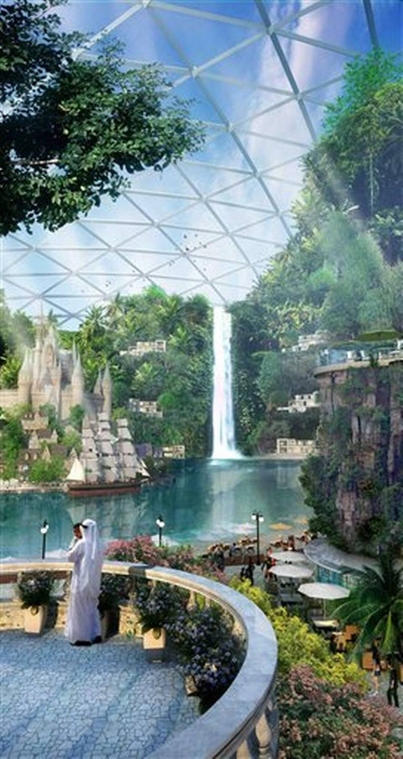 Dubai To Build The World's First Climate-Controlled City