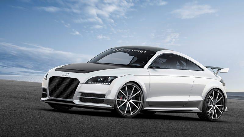 Audi TT Ultra Quattro Concept: Aluminum Und Jenny Craig