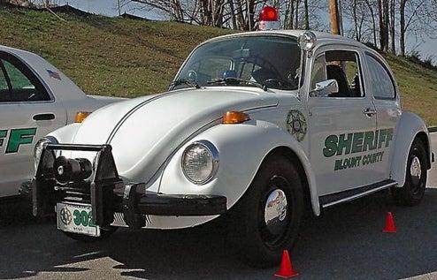 Beware The Bug-Erceptor: Johnny Law's Cutest Cruiser