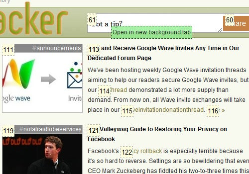 KeyboardNavigation Does Away with Mouse Clicks in Chrome