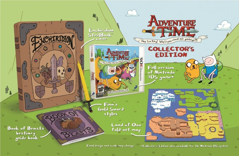 The Adventure Time Game's Collector's Edition Includes The One Thing It Needed To