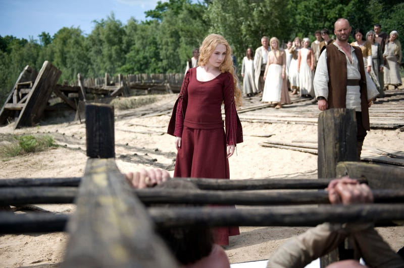 Battle scene from upcoming horror movie Black Death is like The Wire - with swords