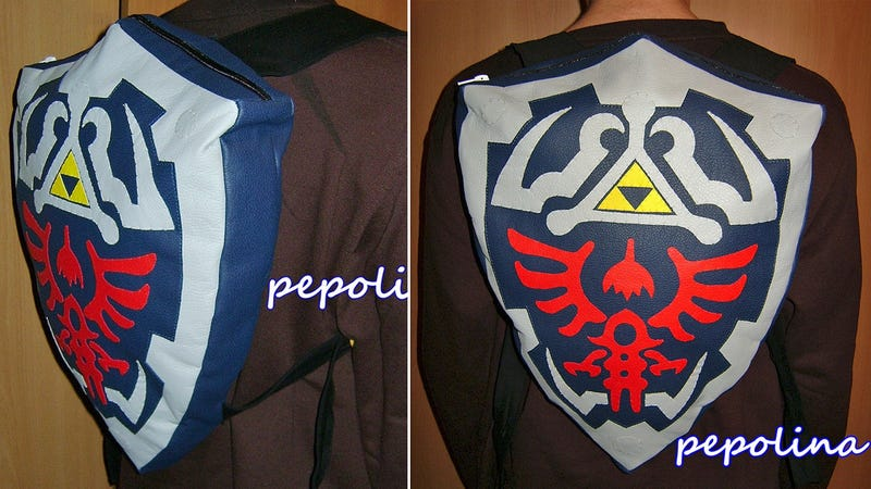 Carry Zelda's Homework In This Fantastic Hylian Shield Backpack