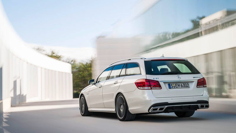 2014 Mercedes-Benz E 63 AMG Sedan And Wagon Now With More Powerrr