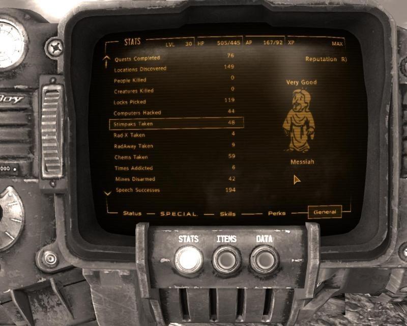 This Guy Beat Fallout: New Vegas With Zero Kills