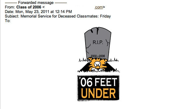 Princeton Alumni Send Tackiest Memorial Service Invitation Ever