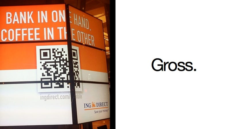 WTF QR CODES: The Definitive Compendium of a Sad and Horrible Technology