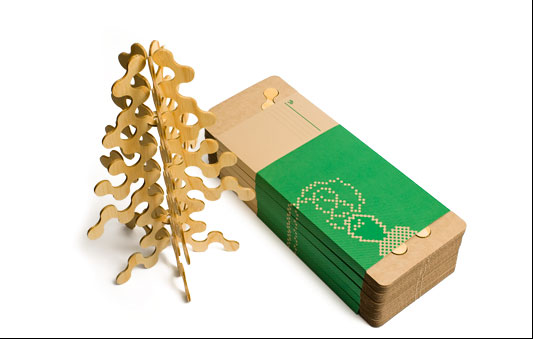 Flatpack Christmas Tree Takes All the Fun out of the Holiday Season